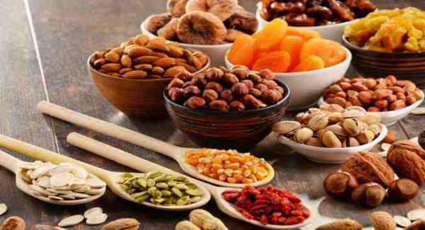 Seeds And Nuts as Healthy Food